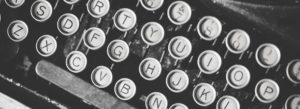 Header-Typewriter-Keys